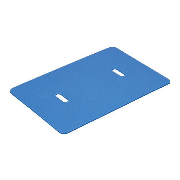 三甲(サンコー) 超大型コンテナ ジャンボックス用落とし蓋S 【#400】 単品 ブルー(青)【代引不可】