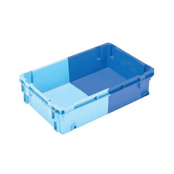 【5個セット】 業務用コンテナボックス/食品用コンテナー 【NF-S33】 ダークブルー/ブルー 材質:PP【代引不可】