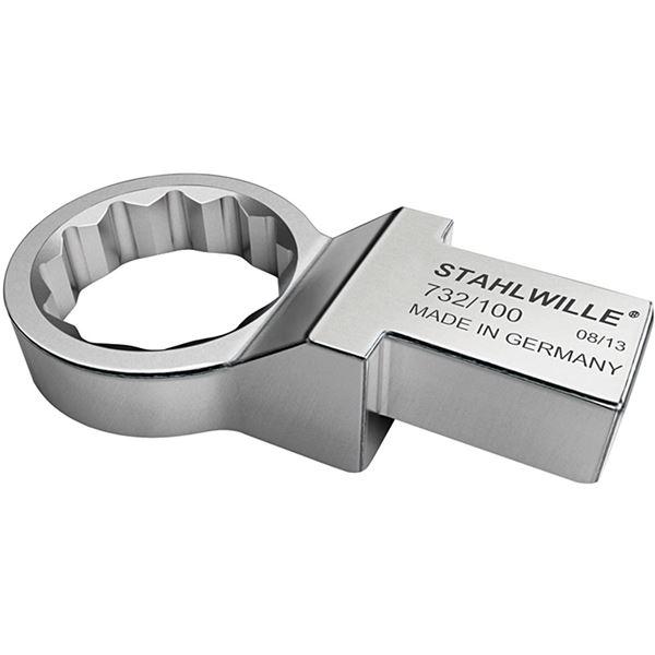 STAHLWILLE(スタビレー) 732/100-27 トルクレンチ差替ヘッド メガネ(58221027)