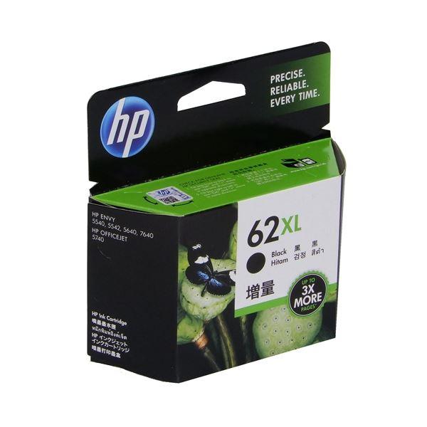 (まとめ) HP インクHP62XL C2P05AAブラック増量【×3セット】