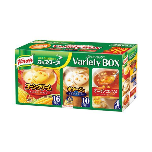 (まとめ)味の素 クノールカップスープ バラエティボックス【×10セット】
