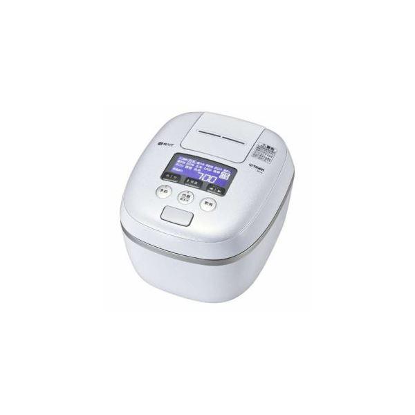 タイガー 圧力IH炊飯ジャー 「炊きたて 360°デザイン」 (5.5合炊き) アーバンホワイト JPC-A102WE
