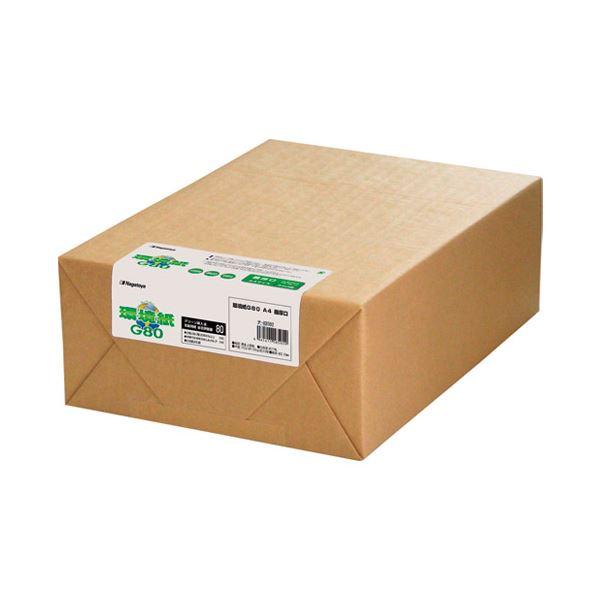 (まとめ) 長門屋商店 環境紙 ナ-K8592 A4 最厚口 500枚【×5セット】