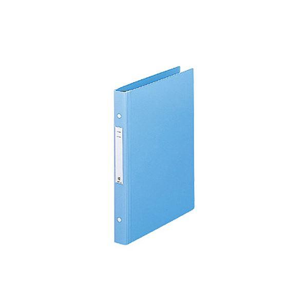 リヒトラブメディカルサポートブック・スタンダード A4タテ 2穴 180枚収容 ブルー HB656-11セット(10冊)