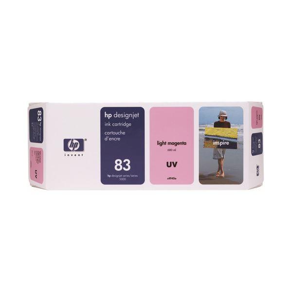 HP HP83 インクカートリッジUVライトマゼンタ 顔料系 C4945A 1個