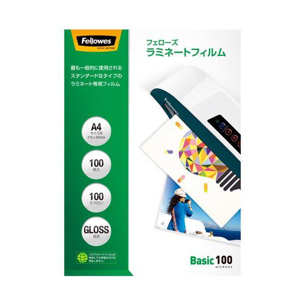 (まとめ)フェローズジャパン ラミネートフィルム A4 100枚入 5847701【×10セット】