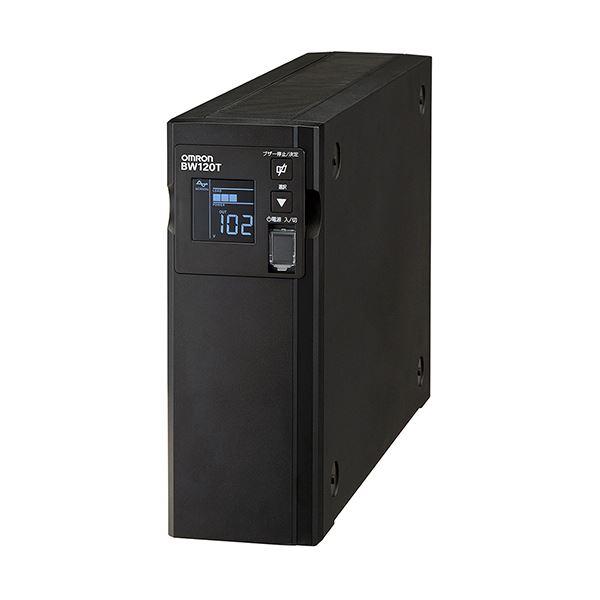 オムロン UPS無停電電源装置(常時商用給電/正弦波出力) 1200VA/730W BW120T 1台