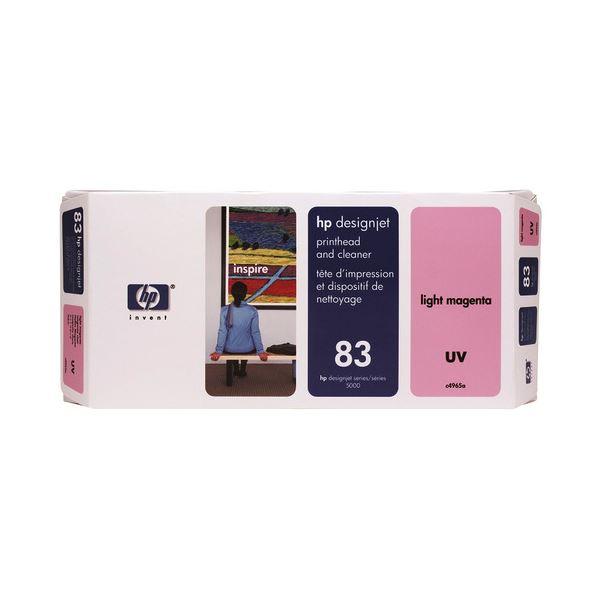 HP HP83プリントヘッド/クリーナーUV ライトマゼンタ C4965A 1個