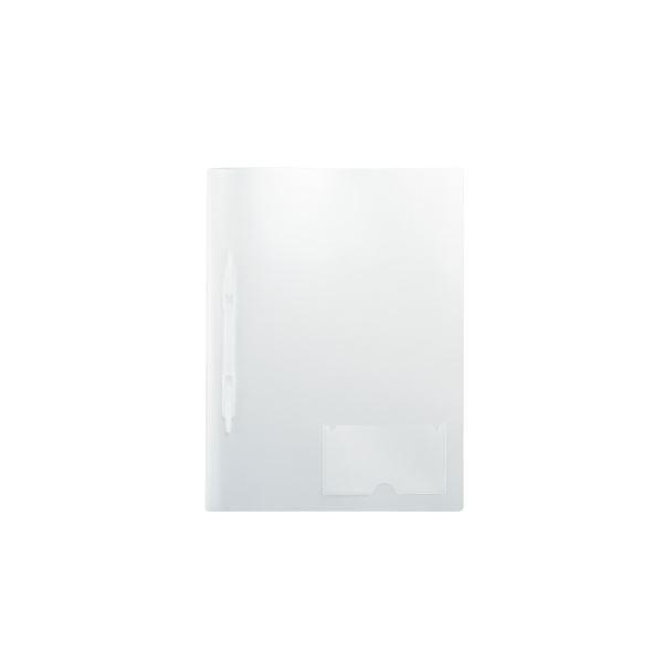 (まとめ)LIHITLAB プラファイル5冊ポケット付F-3019-5P-1 乳白【×50セット】