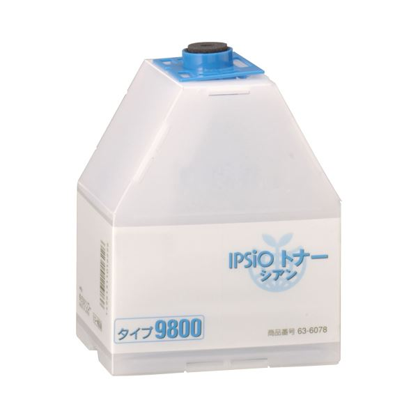 エコサイクルトナー タイプ9800シアン 1個