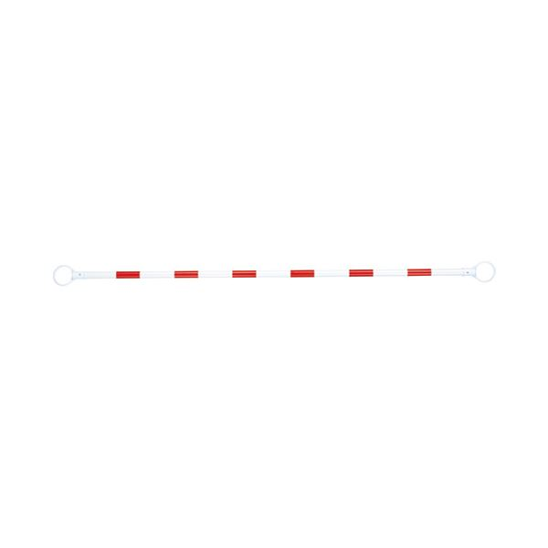 (まとめ) スマートバリュー コーンバー 赤/白 N164J-R/W【×10セット】