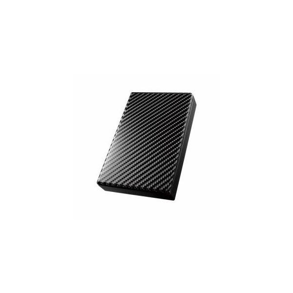 IOデータ USB 3.0/2.0対応ポータブルハードディスク「高速カクうす」 カーボンブラック 2TB HDPT-UT2DK