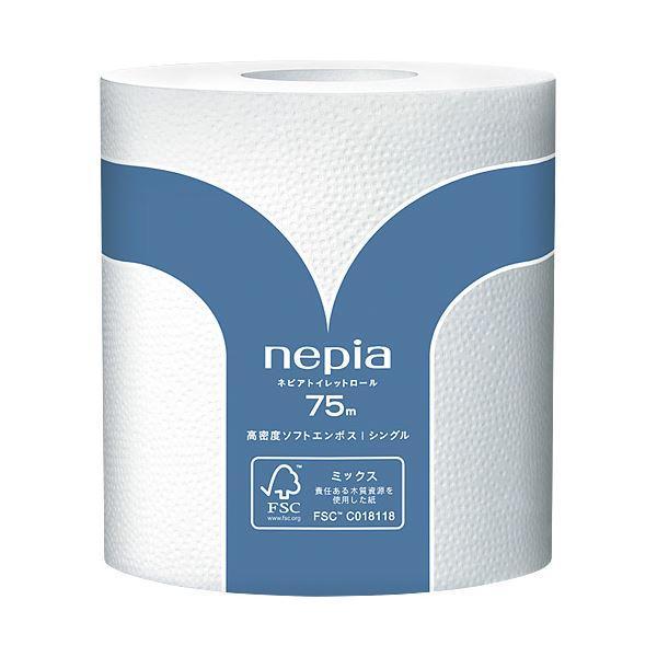 (まとめ) ネピア トイレットペーパー ネピアロール S 80巻【×3セット】