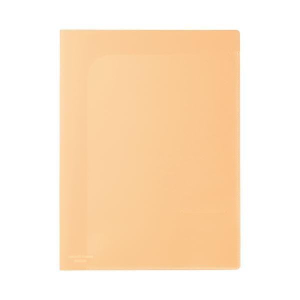 (まとめ)ビュートン スマートホルダー NSH-A4-2COR オレンジ【×100セット】