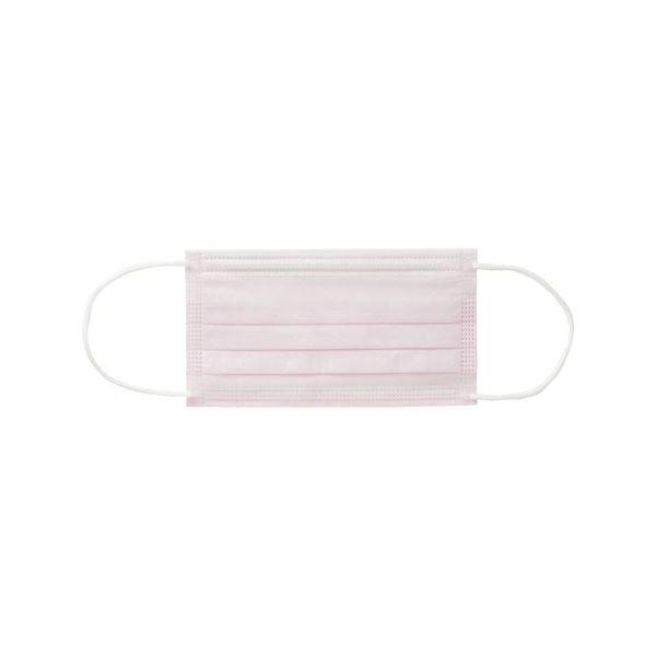 (まとめ)バイタルイヤーループマスク ピンクS20箱【×3セット】