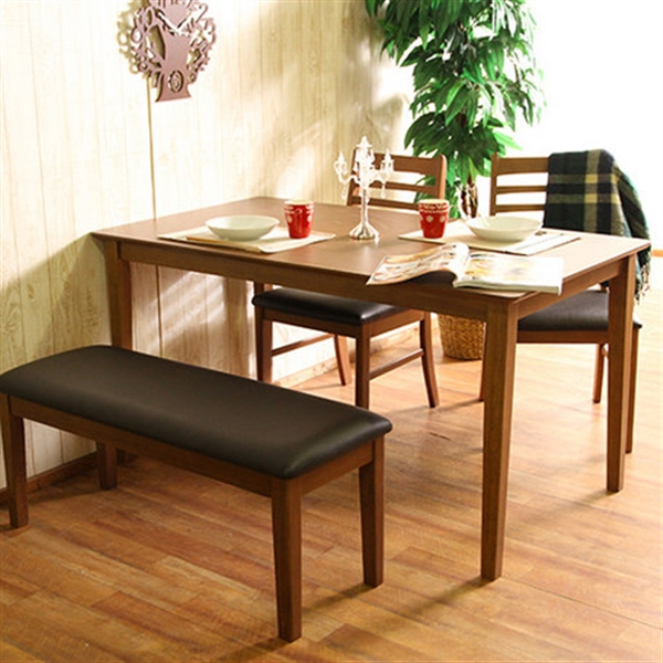 ダイニングテーブル 幅120cm ブラウン (96783)
