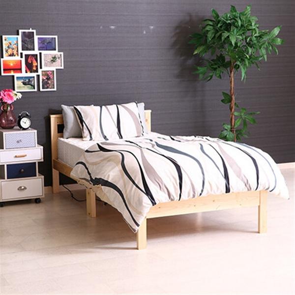 パイン材木製ベッド ブラザー (50226)