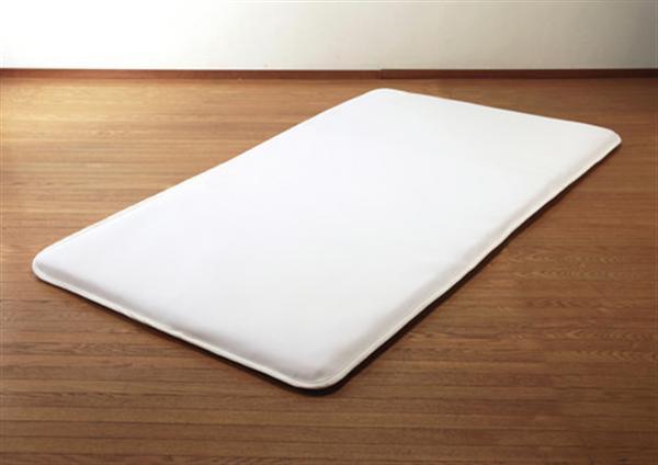 高反発エアークリンプ中芯使用 洗える敷布団(リバーシブル仕様)(セミダブル)