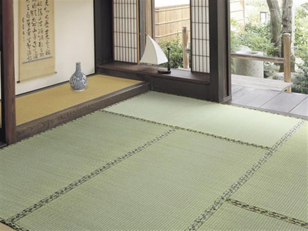フリーカット畳タイプい草上敷 6畳264×352cm