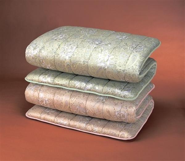 防ダニ・防臭・抗菌加工 NEWボリュームウール3層式敷布団 ピンク セミダブル