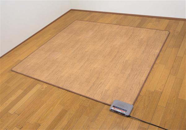 木目調フローリングホットカーペット2畳