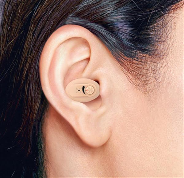 耳あな型補聴器イヤファッションNEF?05 2個組 <ニコン・エシロール>