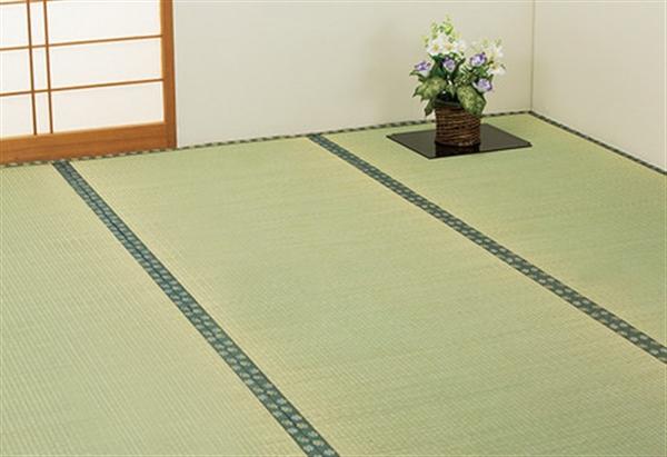国産双目織りい草上敷き江戸間4.5畳 (ヒバエッセンス加工)
