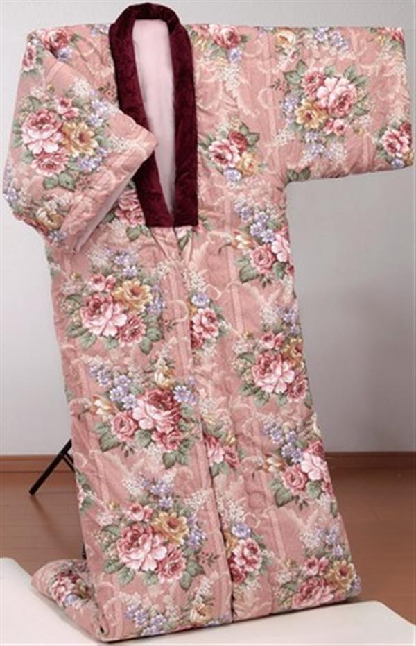 英国羊毛ボリュームかいまき布団(増量タイプ) ピンク系