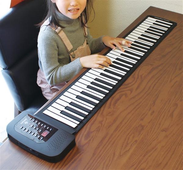ロールアップピアノ 88鍵盤