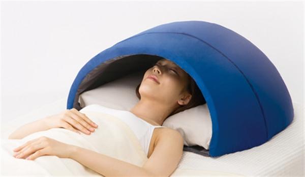 かぶって寝る安眠ドーム「イグルー」