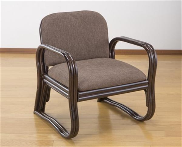 【6月上旬頃入荷予定】天然籐思いやり座椅子 ミドルタイプ