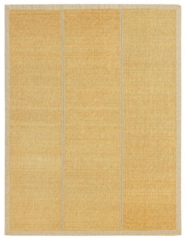 折りたためる竹ラグ コンパクト収納「カナパ」ベージュ 約348×348cm