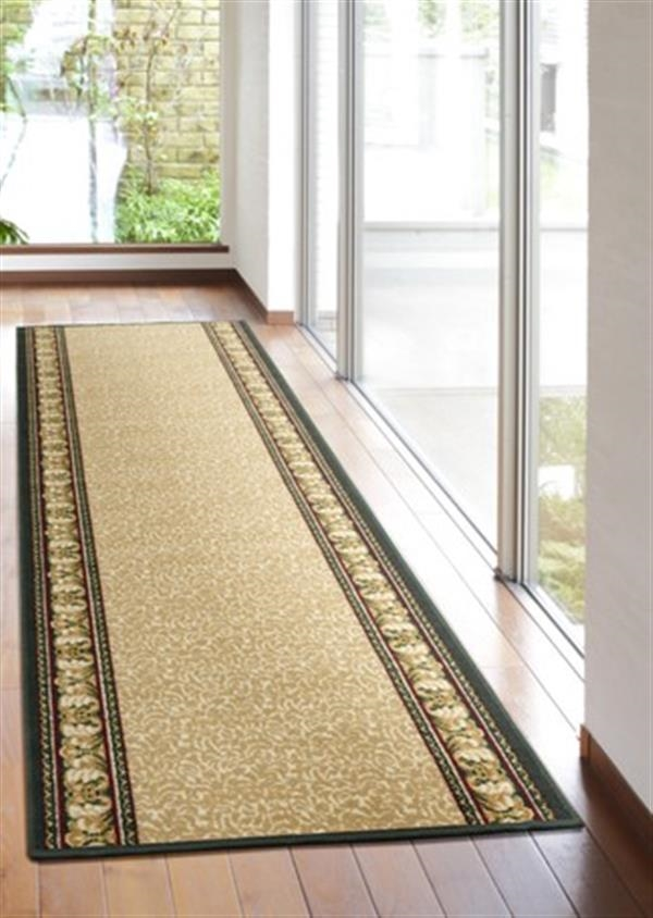 「アイラスIN」 洗える廊下敷き サイズ:約80×700cmベージュ