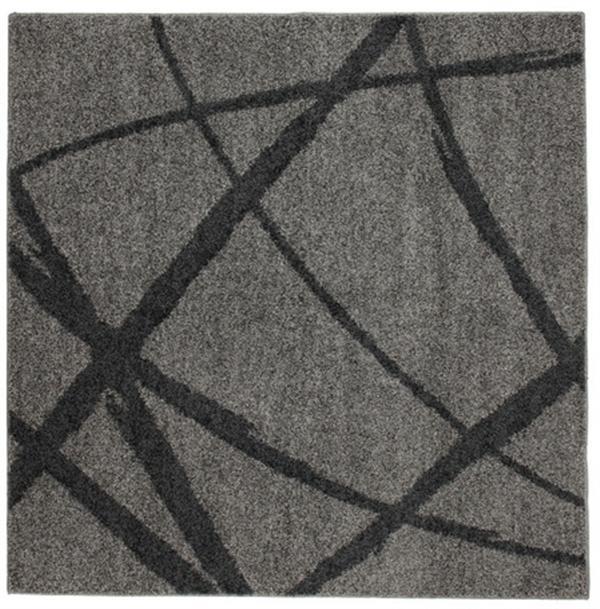 【防ダニ・抗菌・防臭】タフトラグ 日本製「ボールド」 グレー 約190×240cm
