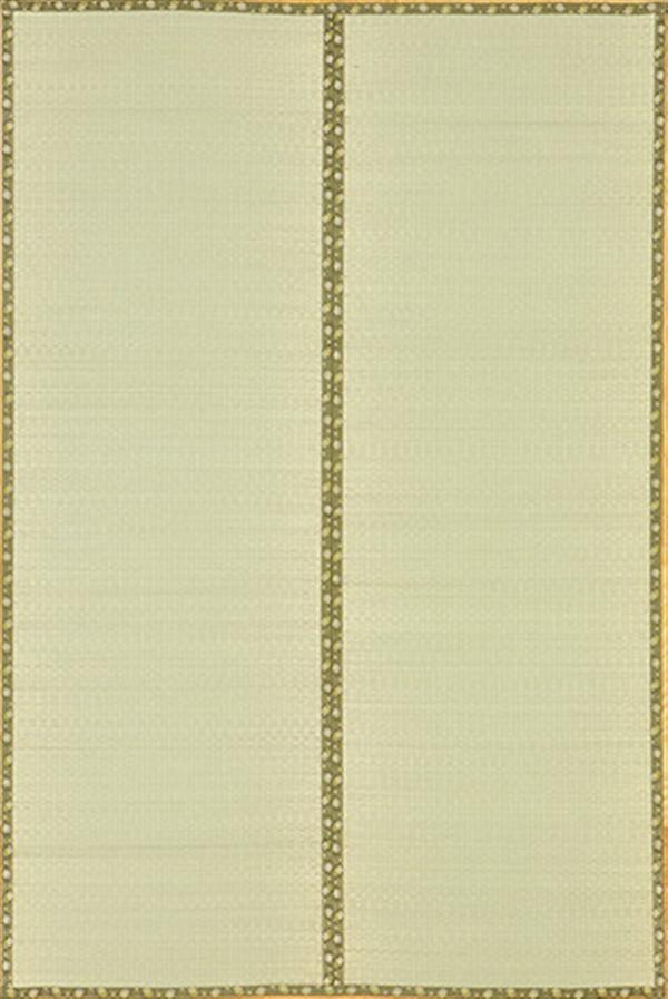 い草 純国産上敷 引目織 「琥珀(こはく)」 本間10畳