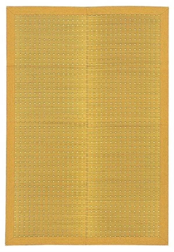 国産 い草ラグ カーペット 裏貼無・裏貼有「吉兆」 ベージュ 裏貼無:約191×250