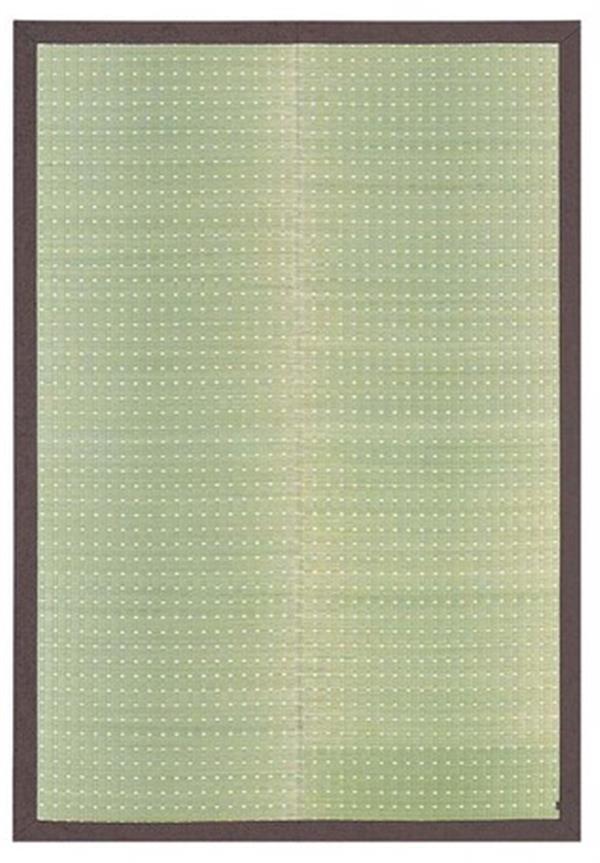 国産 い草ラグ カーペット 裏貼無・裏貼有「吉兆」 ナチュラル 裏貼有:約191×191