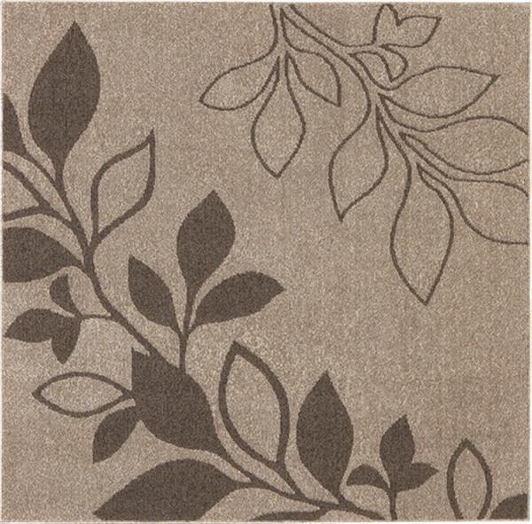 タフトラグ 防ダニ 抗菌 抗ウィルス 日本製「アルブル(折りたたみ)」 ブラウン 約130X185cm
