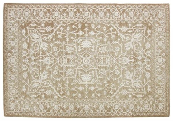 シェニールラグ 綿100% ヴィンテージ風 「サディオ」 約130x190cm