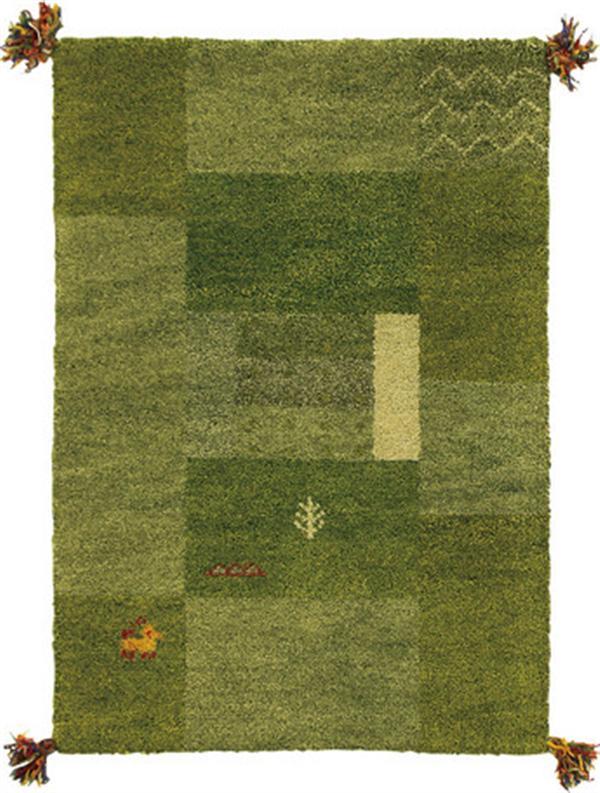 ギャッべ マット 「GABBEH D11」 約60×90cm
