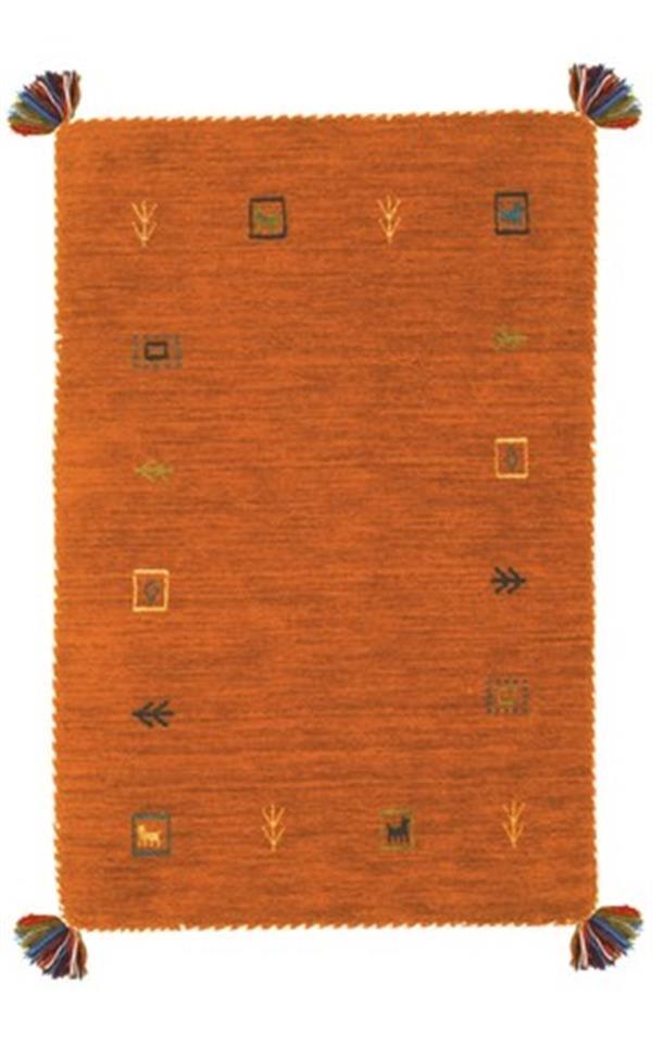 ギャッべ マット 「LORRI BUFFD L4」 約60×90cm