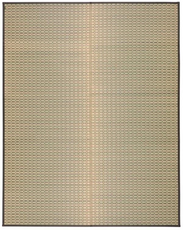 【2019新作】国産い草センターラグ 裏貼有「山月(さんげつ)」 約191×250cm
