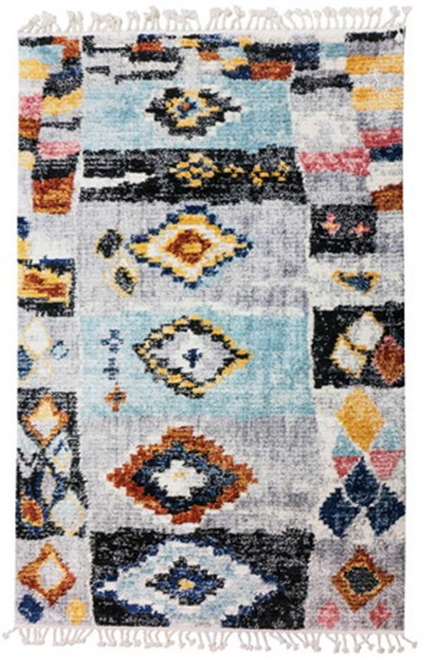 ウィルトン織ラグ トルコ製 「MOROCCO(モロッコ)イデ」 約160X230cm