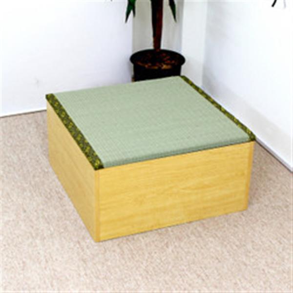高床式ユニット畳(半畳タイプ)ナチュラル