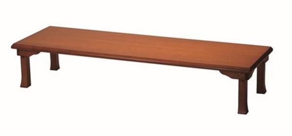 座卓(折脚) 幅180cm TWZC1860BR ブラウン