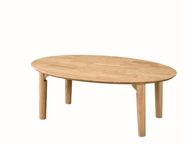 座卓(折脚) 幅90cm WZ900RNA ナチュラル