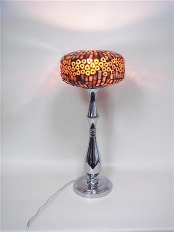 エレガントなデザイン モザイクグラスランプ テーブルランプ