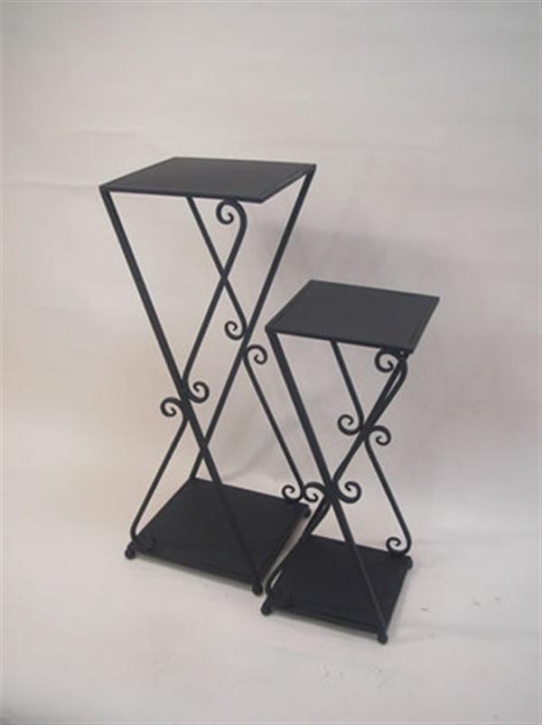 プラントスタンド 花台 ランプテーブル 2個セット