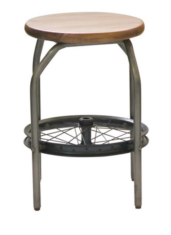 車輪を組み合わせたかわいいアンティークスツール <ienowa/ロダ>