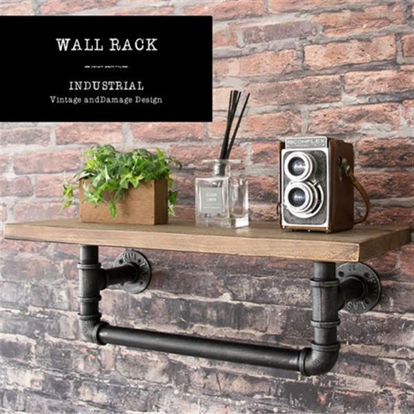 INDUSTRIALシリーズ ウォールラック 1段 RK-A100 1段タイプ